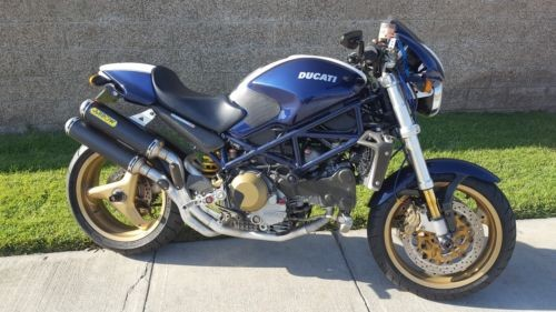 2004 Ducati Monster Blue for sale craigslist