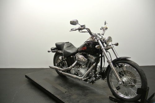 2004 Harley-Davidson FXSTI – Softail Standard — Black for sale craigslist
