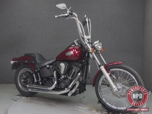2004 Harley-Davidson Softail FXSTBI  NIGHT TRAIN Black photo