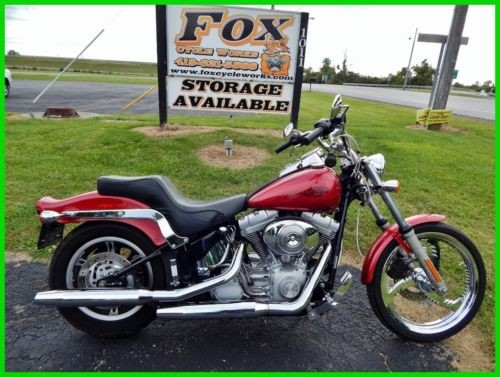 2004 Harley-Davidson Softail FXSTI    Fuel Injected Sierra Red photo