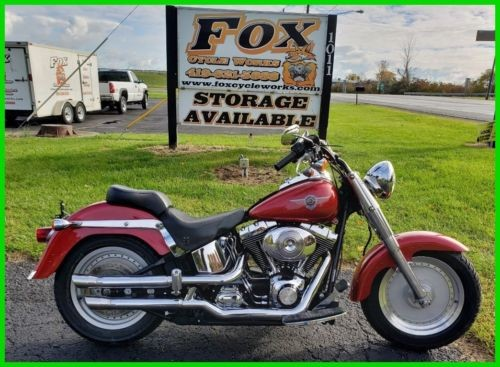 2004 Harley-Davidson Softail FLSTFI  Fat Boy - Injected Sierra Red photo