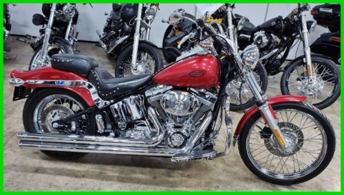 2004 Harley-Davidson Softail FXSTI   Custom  Injected Sierra Red photo