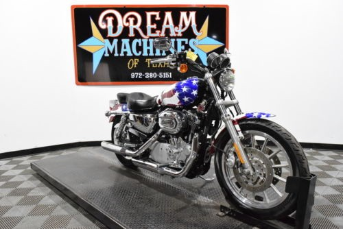 2004 Harley-Davidson XL1200R - Sportster 1200 Roadster Managers Special -- American Flag photo