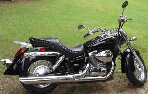 2004 Honda Shadow Aero 750 Black for sale craigslist