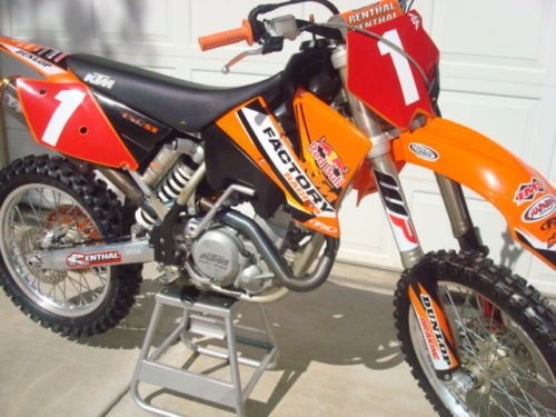2004 KTM SX Orange photo