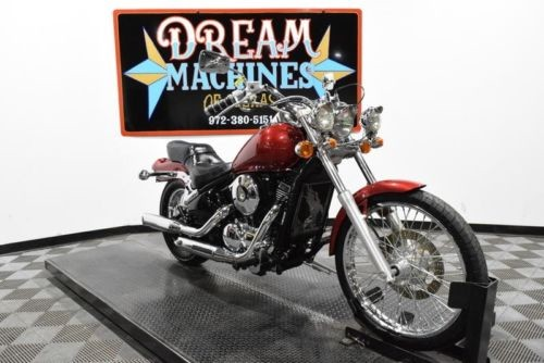 2004 Kawasaki Vulcan 800 - VN800A Managers Special -- Red photo