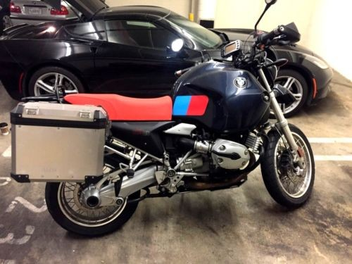 2005 BMW R-Series Dunkelblau/Oranget photo