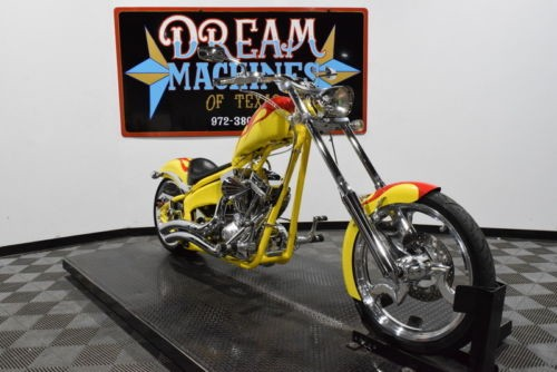 2005 Big Dog Chopper -- Yellow photo