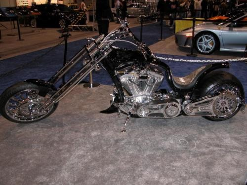 2005 Bourget Viper 2 - 330 Softail Black photo