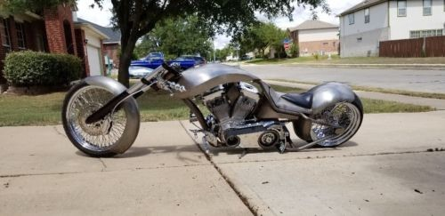 2005 Custom Built Motorcycles War eagle Wrath Raw for sale