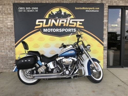 2005 Harley-Davidson FLSTN – Softail® Deluxe — Blue for sale