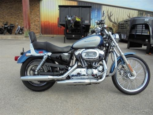 2005 Harley-Davidson Sportster BLUE/SILVER photo