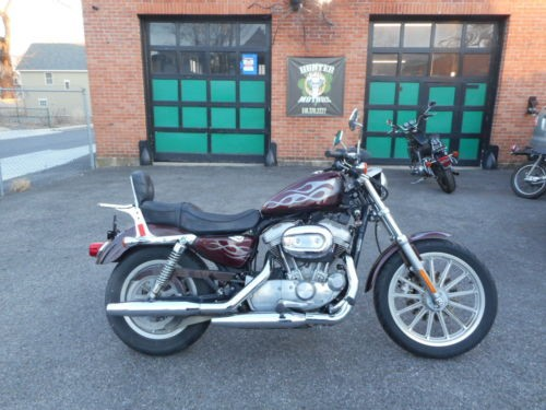2005 Harley-Davidson Sportster Burgundy photo