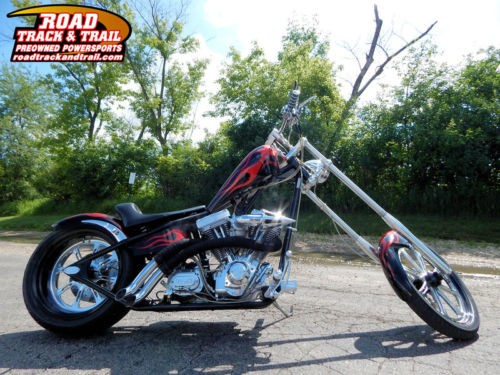 2005 Hell Bound Steel Chopper — Black for sale