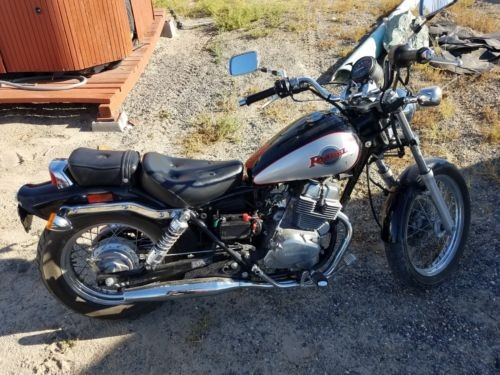 2005 Honda Rebel Black photo
