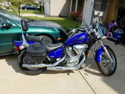 2005 Honda Shadow Blue photo