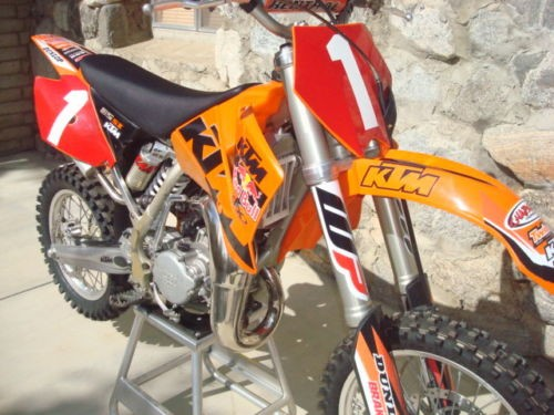 2005 KTM SX Orange photo