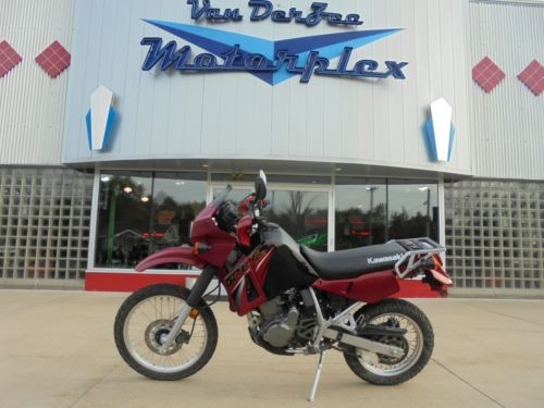 2005 Kawasaki KLR Red photo