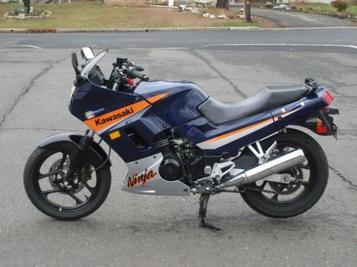 2005 Kawasaki Ninja Blue photo