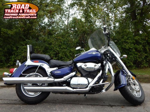 2005 Suzuki Boulevard -- Black photo