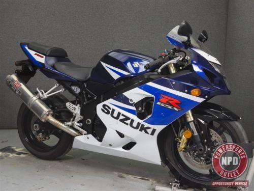 2005 Suzuki GSX-R BLUE/WHITE photo