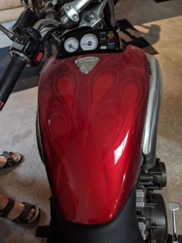 2005 Yamaha V Max Red photo