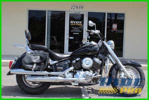 2005 Yamaha V Star Classic Black photo