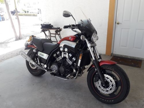 2005 Yamaha VMAX Red for sale