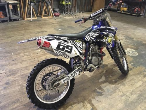 2005 Yamaha YZ Blue photo