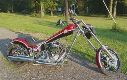 2006 American Ironhorse Texas Chopper Red for sale craigslist