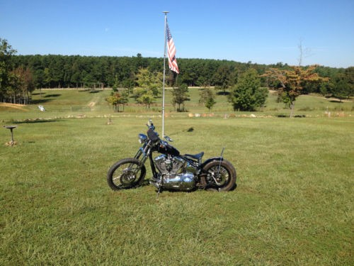 2006 Custom Built Motorcycles Bobber Black photo