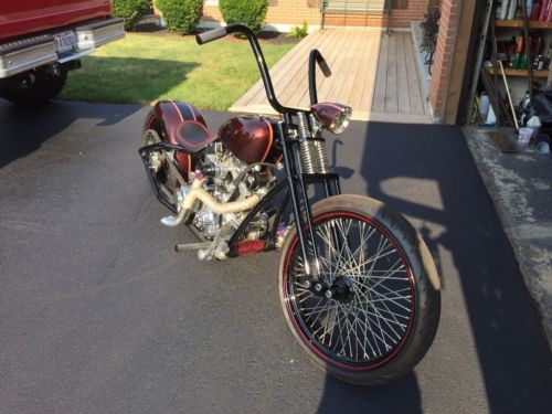 2006 Custom Built Motorcycles Bobber Root beer Brown photo