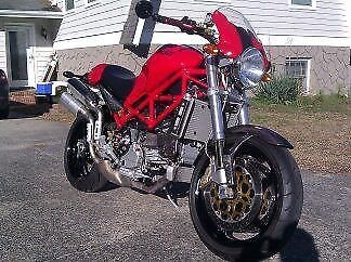 2006 Ducati Monster Red photo