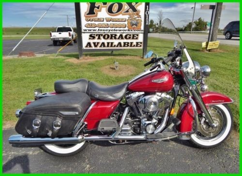 2006 Harley-Davidson FLHRCI Road King Classic – Injected Brandy Wine Sunglo for sale