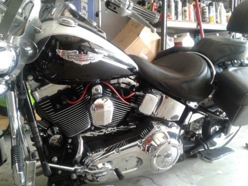 2006 Harley-Davidson Softail Black photo