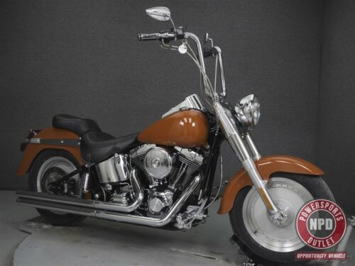 2006 Harley-Davidson Softail FLSTF FAT BOY Orange photo