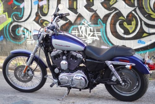 2006 Harley-Davidson XL1200C – Sportster® 1200 Custom XL1200C Blue / Silver for sale craigslist