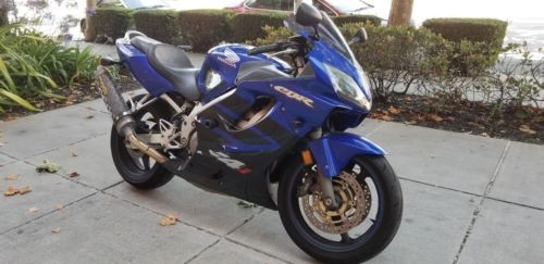 2006 Honda CBR Blue photo