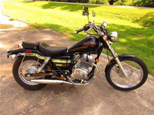 2006 Honda Rebel — Black for sale
