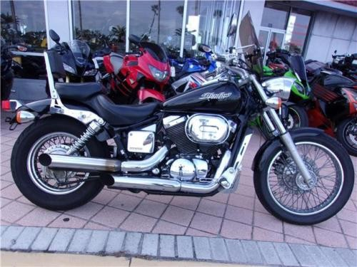2006 Honda Shadow -- Black photo