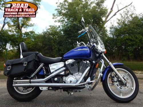 2006 Honda Shadow -- Blue photo