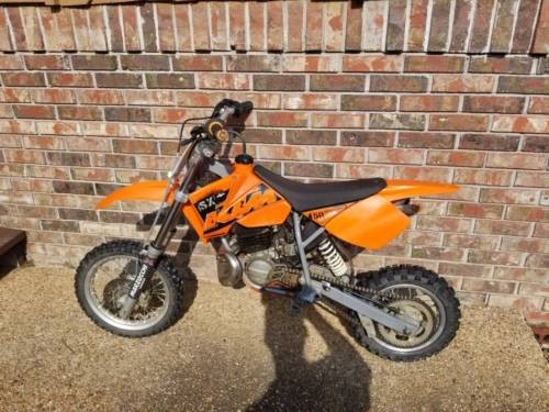 2006 KTM SX Orange photo