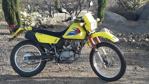 2006 Suzuki DR Yellow photo