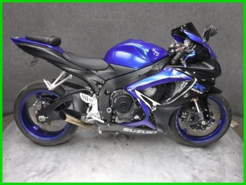 2006 Suzuki GSX-R600 Black for sale