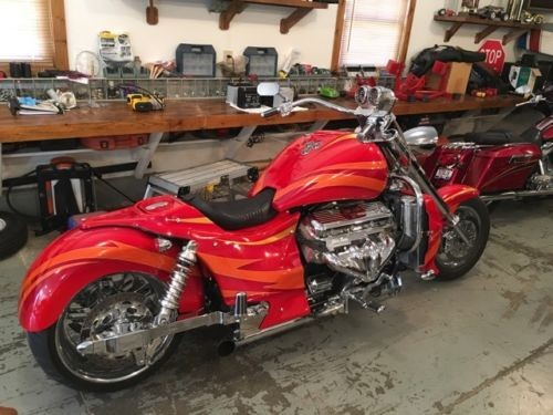 2007 Boss Hoss MOTORCYCLE Red for sale
