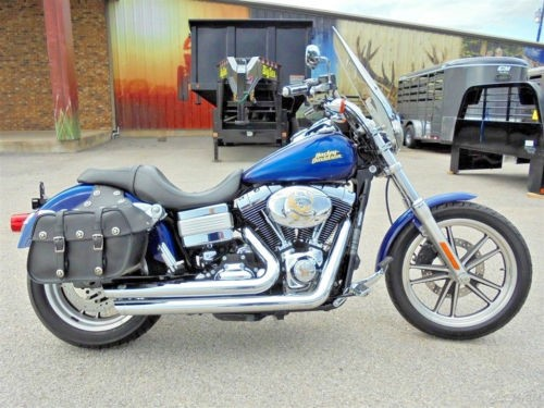 2007 Harley-Davidson Dyna Low Rider Blue photo