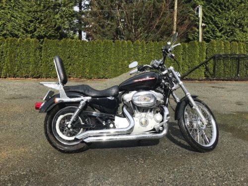 Harley-Davidso<wbr/>n: Sportster Black for sale craigslist
