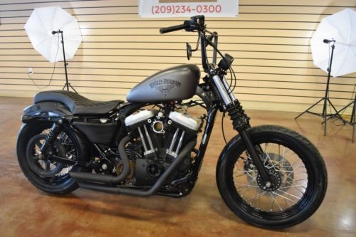 2007 Harley-Davidson Sportster Gray photo