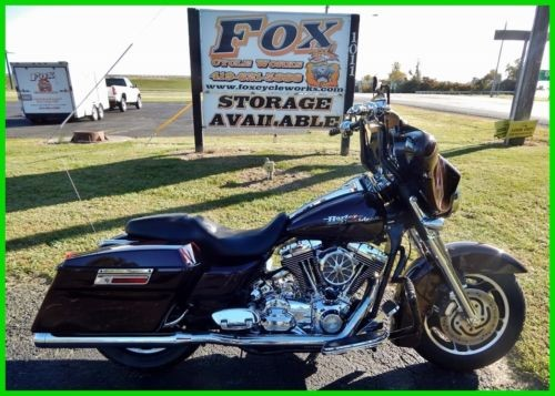 2007 Harley-Davidson Touring FLHX Street Glide Black Cherry Pearl photo