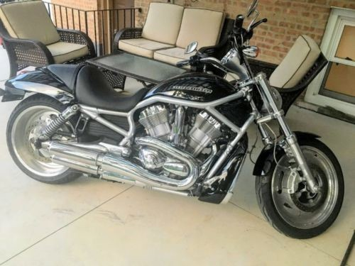 2007 Harley-Davidson V-ROD Black photo
